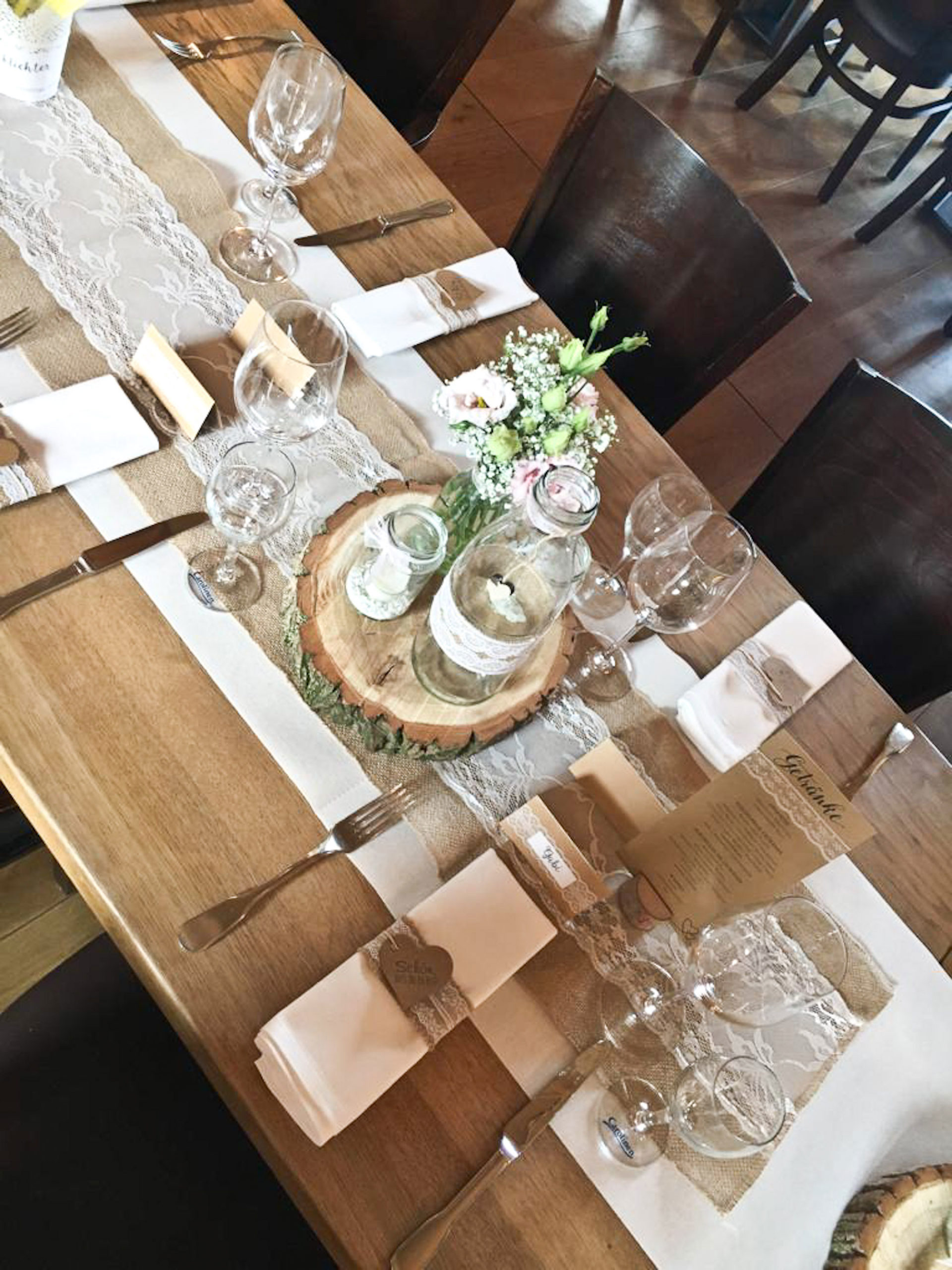 Blumenschmuck Hochzeit Hochzeitsfloristik Vlotho Boho Vintage Tischdeko Hochzeit
