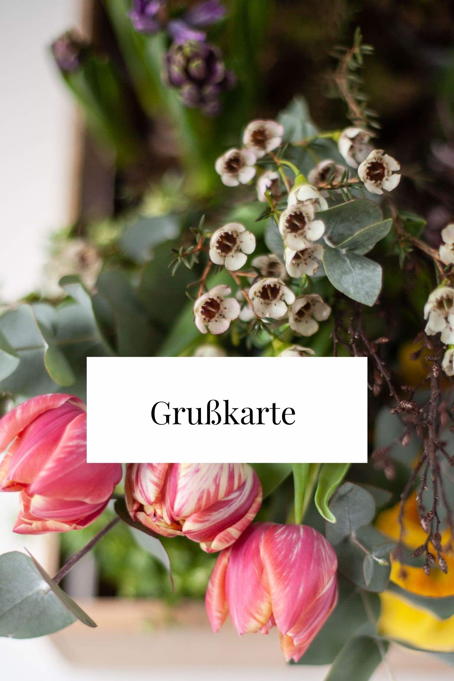 Zauberblüte Exter Vlotho Blumenladen Onlineshop Grußkarte