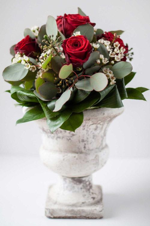 Blumenstrauss rote Rosen Vlotho Zauberblüte Valentinstag Hochzeitstag Jubiläum Liebe